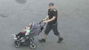 Bebek arabalı kundakçı her yerde aranıyor