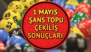 Şans Topu 1 Mayıs akşamı bir kişiyi sevindirdi MPİ Şans Topu sonuç sorgulama