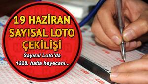 19 Haziran MPİ Sayısal Loto çekiliş sonuçları Sayısal Lotoda 1 milyon 62 bin TL sahibini buldu