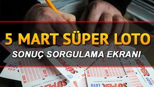 5 Mart Perşembe Süper Loto sonuç sorgulama ekranı - 646. Süper Loto sonuçları ilan edildi  (Büyük ikramiye 10 milyona katlandı)