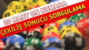 On Numara sonuçları ilan edildi: 1 kişi büyük ikramiyeyi kazandı - MPİ 30 Mart On Numara çekiliş sonuçları sorgulama sayfası