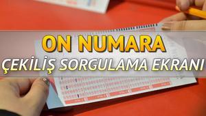 MPİ On Numara çekiliş sonucu sorgulama ekranı | 922. hafta On Numara çekiliş sonuçları açıklandı