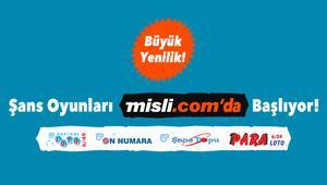 Milli Piyangonun şans oyunları, Misli.comla çok yakında evinize geliyor
