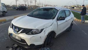 HDPli Dilek Öcalanın aracı kaza yaptı: 4 yaralı
