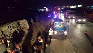 Bursa'da kamyon ile kamyonet çarpıştı: 4 ölü, 1 yaralı