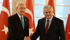 Kılıçdaroğlundan Başbakan Yıldırıma geçmiş olsun telefonu
