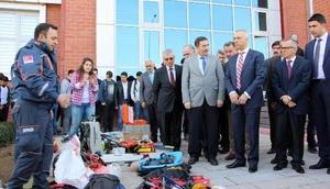 Deprem bölgesi Çankırı'da afet bilinci eğitimi