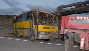6 kişinin öldüğü kazada sürücüye 15.5 yıl hapis