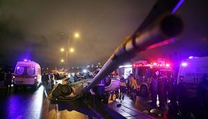 E-5te korkunç kaza