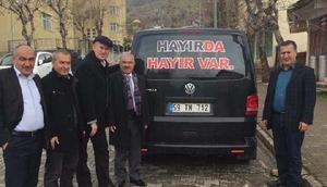 CHP'li Sertel'den Siirt'ten hayır istedi
