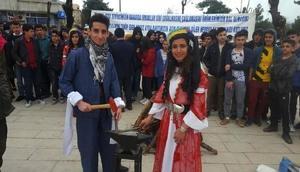 Siirtte 3 dilli nevruz kutlaması