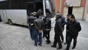 Mardinde 17 polis FETÖden tutuklandı