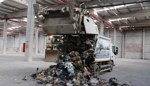 Manisada çöp sorunu çözecek tesiste test çalışmaları başladı