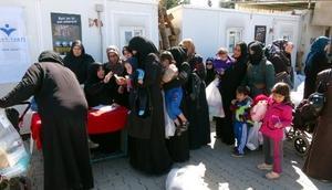 Kiliste, Suriyeli kadın ve bebeklere yardım