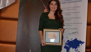 Antalyadan Güloğluna ödül