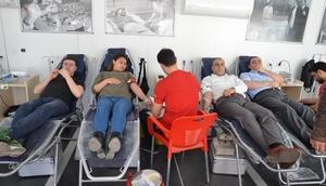 Kırıkkale Üniversitesinde kan bağışı