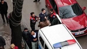 Zonguldakta polise direnen 3 kişi, gözaltına alındı