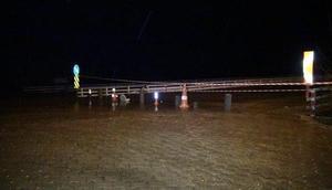 Bingölde sağanak yağış nedeniyle dere taştı, evleri su bastı (2)
