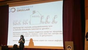 Kırklareli'nde 'alternatif yaklaşımlar ve demokratik eğitim' semineri
