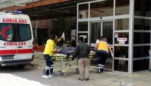 El Babda yaralanan 2 kişi Kilis'e getirildi