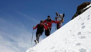 Milli Dağcı Tunç Fındık Vanda Erek Dağı'na tırmandı