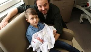 Aydın Kurtoğlu'nun ikinci kez babalık sevinci