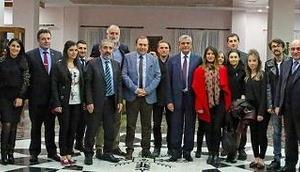 Gürcü Heyet Ardahan Üniversitesinde