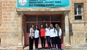Aydın Doğan Vakfından Midyat Kız Öğrenci Yurduna Gökkuşağı Salonu