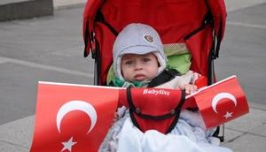 Trabzonda CHPnin 23 Nisan kutlaması