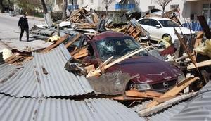 Fırtına, Sivasta büyük hasara neden oldu
