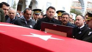 Şehit uzman çavuş Turgay Uğantaş, Kırıkkalede toprağa verildi