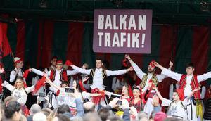 Balkan Trafik Festivali halk oyunlarıyla sona erdi