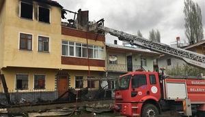 Sivasta yangın: Bir kişi hayatını kaybetti