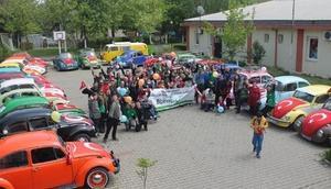 Bursa'da renkli Vosvos turu