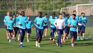 Alanyaspor, Kayseri maçı hazırlıklarına başladı