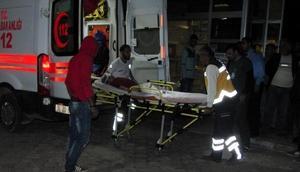 El Babda yaralanan 4 çocuk Kilis'e getirildi