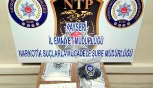 Kayseride uyuşturucu ticaretine 2 gözaltı