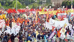 1 Mayıs İstanbul'da Bakırköy'de