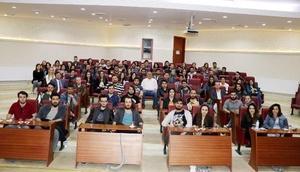 Salman, üniversitelilere Yalova'yı anlattı