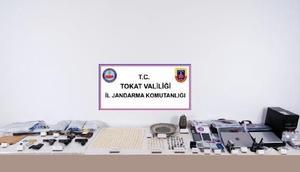 Tokat merkezli 6 ilde tarihi eser operasyonu: 5i asker 18 gözaltı
