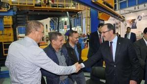 KSO Başkanı Kütükcü, Konya Endüstri Zirvesini ziyaret etti