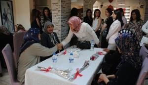 Karaman'da şehit anneleri unutulmadı