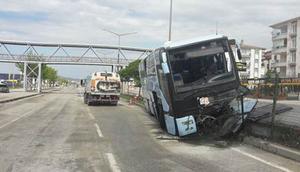 Kongreye gelen AK Partililere kaza şoku... 32 yaralı