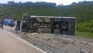 Bursa'da yolcu midibüsü ile otomobil çarpıştı: 3 ölü