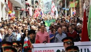 Giresun Aksu Festivali yürüyüşü renkli geçti