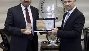 Kayseri Büyükşehire, 2 ödül birden