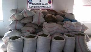 Diyarbakırda 5 ton 174 kilo esrar ele geçirildi