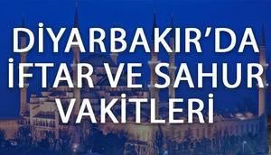 Diyarbakırda iftar vakti 2017 Diyarbakır iftar saatleri