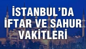 İstanbulda sahur saat kaçta bitiyor İstanbul 2017 Ramazan imsakiyesi
