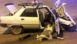 Artvinde iki otomobil tünelde çarpıştı: 2 ölü, 1 yaralı